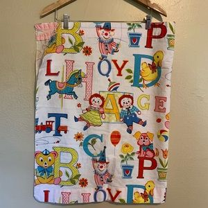 Vintage Raggedy Ann Curtains - Set of Two